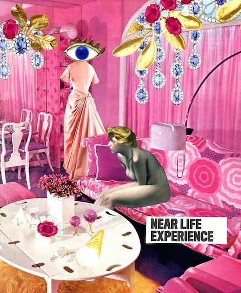 """""""Near Life"""", 2013, Colagem, 22,3 x 30,4cm"""
