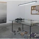"""""""El Museo Imposible de las Cosas Vivas - Departamento de integración pan-continental (área de contacto triangular)"""", 2014, instalação contexto-específico, materiais diversos, dimensões variadas"""