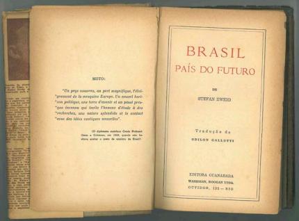 """""""Brasil, país do futuro: um livro sobre o livro"""""""