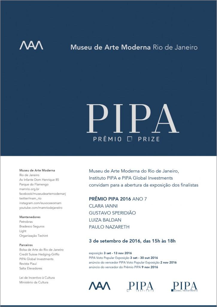 Convite PIPA 2016