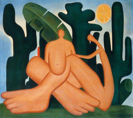 'Antropofagia' (1929), de Tarsila do Amaral