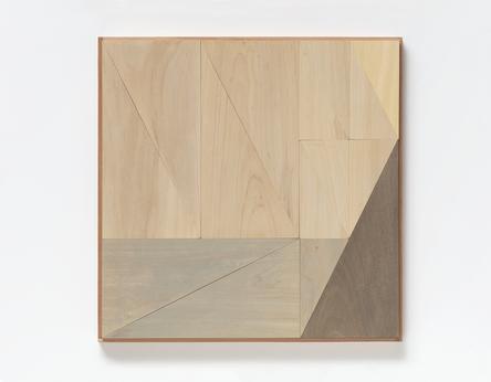 Felipe Cohen. Série Luz Partida #1, 2016 Pintura sobre madeira 37 x 37 cm.