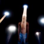 """João Castilho. """"Raios"""", da série """"Paisagem Submersa"""". 2016. Impressão fotográfica. 100 x 150 cm."""