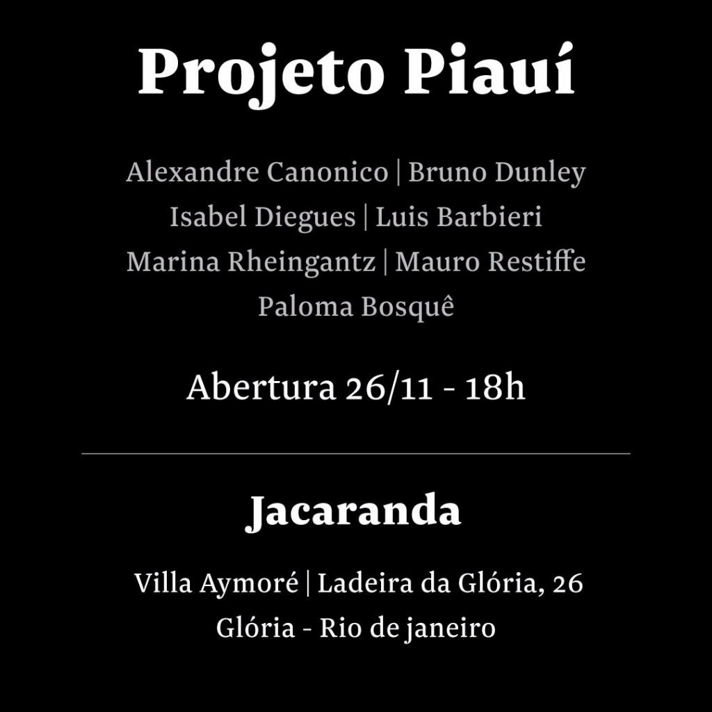 """E-convite """"Projeto Piaui"""""""